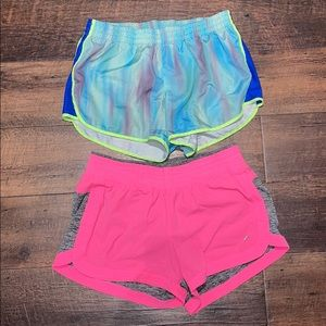 2 Pairs of Workout Shorts